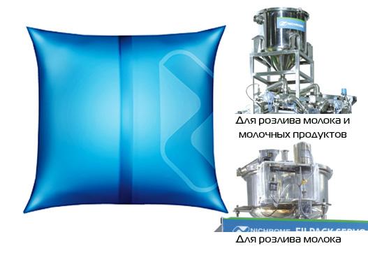 Розлив молока и молочных продуктов в пакеты с высокой точностью